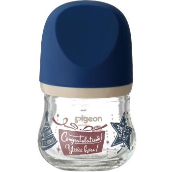 Pigeon 贝亲 贝亲奶瓶玻璃宽口径日本新生婴儿臻宝奶瓶80/160ml宝宝官方旗舰店
