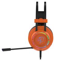 DOUYU.COM 斗鱼 DHG160游戏耳机 7.1声道  电竞耳机 (橙色、有线、USB接口)