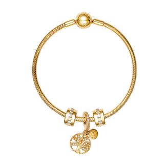 PANDORA 潘多拉 沉甸甸的丰收 PDL0334-17 玫瑰金色串珠手链