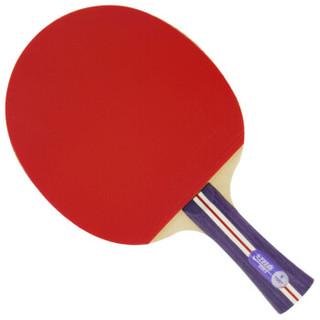 DHS 红双喜 入门训练乒乓球拍横直对拍套装赠乒乓球(1星横直)  1xinghengzhi