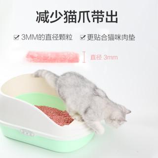 Navarch 耐威克 水蜜桃味豆腐猫砂 蓝色 6L