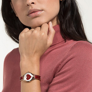 SWAROVSKI 施华洛世奇 COSMIC ROCK 闪耀红色女款腕表 女友礼物5483519  525333