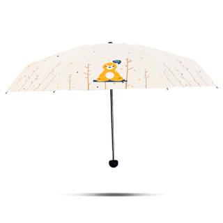 天堂 FXRS 晴雨两用伞 米色