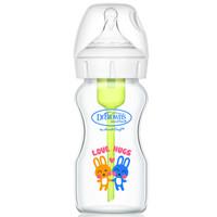 Dr Brown's 布朗博士 宽口径玻璃奶瓶自然实感奶瓶270ml (200-299ml、玻璃、宽口径)