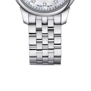 TISSOT 天梭 瑞士手表 力洛克系列钢带机械女士手表 T006.207.11.116.00