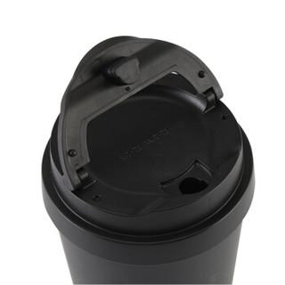 LOCK&LOCK 乐扣乐扣 LHC4151BLK 商务咖啡不锈钢保温杯 黑540ml