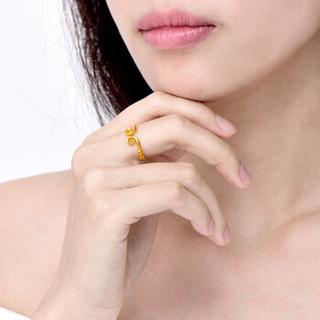 SUNFEEL 赛菲尔 黄金戒指女 爱情紧箍咒戒指 金戒指 西游款 2.96-3.06克    JDB10300