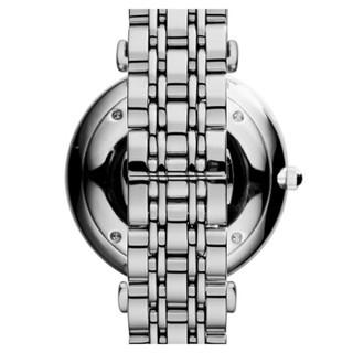 EMPORIO ARMANI 阿玛尼手表 钢制表带时尚休闲石英男士腕表 AR1819