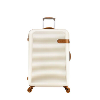 INTERNATIONAL TRAVELLER 英国IT()拉杆箱万向轮行李箱防刮耐摔旅行箱20英寸超轻登机箱带扩展1762白色