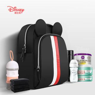 Disney 迪士尼 双肩妈咪包 红白 =