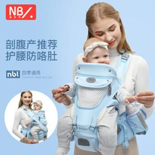 New bealer 纽贝乐 宝宝背带 清新蓝  DN218-C