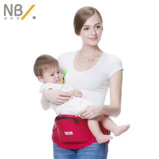 New bealer 纽贝乐 婴儿背带腰凳 酒红色 DN103