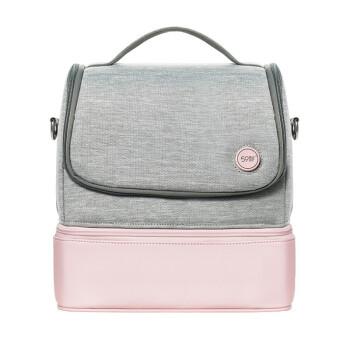 SUNUV 背带妈咪包 粉红色 p14