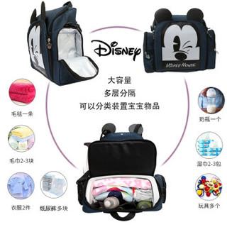 Disney 迪士尼 双肩妈咪 蓝色 =