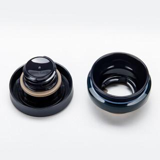 THERMOS 膳魔师 JNO-501 超轻不锈钢保温杯 国产黑色 500ml
