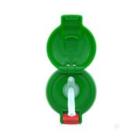 TIGER 虎牌 儿童保温杯吸管杯盖配件 MBJ-C06C MML-C06C MBR-S 替换 绿色