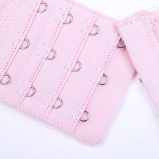 INUJIRUSHI 犬印本铺 哺乳文胸   2件装   透气无钢圈前开扣式   XL粉色+L蓝色