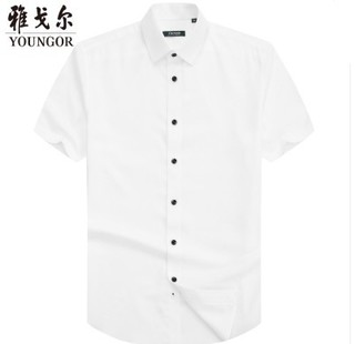 YOUNGOR 雅戈尔 005BFC 男士夏季商务正装衬衫