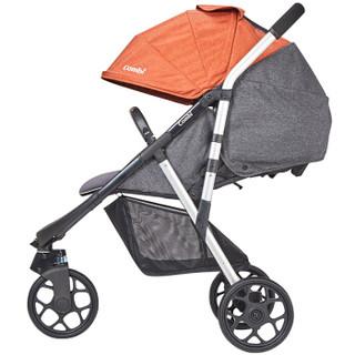 日本康贝 Combi 婴儿推车爱舒乐3w宝宝推车 婴儿轻便可坐可躺高景观 橘色