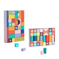 BabyCare 葆婴 宝宝数字积木木头婴儿男女孩1-3-6周岁儿童拼装玩具 奥丁乐园 7266