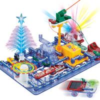 电学小子 儿童电子电路积木拼装玩具 6688