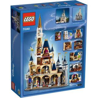 LEGO 乐高 小颗粒创意拼插迪士尼城堡 71040
