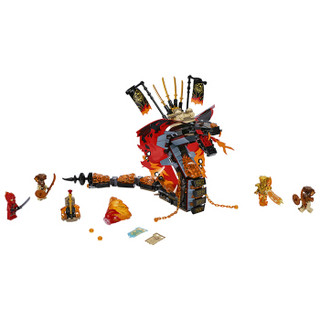 LEGO 乐高 幻影忍者Ninjago烈焰威龙8岁+ 70674
