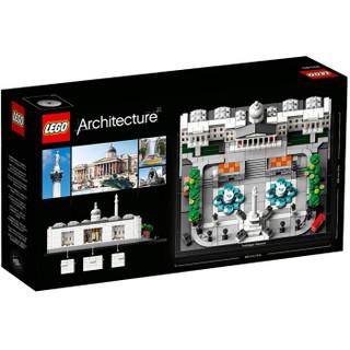 LEGO 乐高 建筑系列Architecture特拉法加广场12岁+ 21045