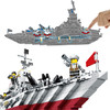 Wangao 万高 积木玩具拼插巡洋战舰8合1