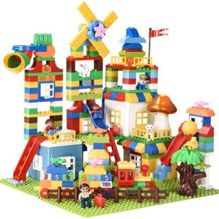 JuLeBaby 聚乐宝贝 大颗粒积木儿童拼装益智拼插建筑 246粒
