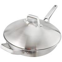 A meal 一顿 AA1102 不锈钢炒锅 不锈钢色