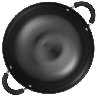 ASD 爱仕达 CF40B1Q 炒锅 40CM铸铁锈不了炒锅 黑色