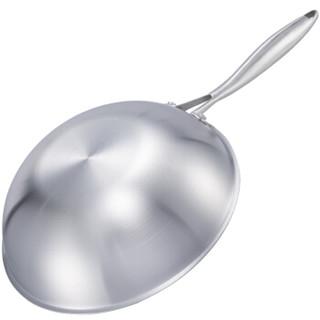 爱乐仕 ALSC-2 德国炒锅不粘锅 不锈钢色