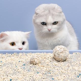 FURRYTAIL 尾巴生活 小混球混合膨润土豆腐砂猫砂 紫色