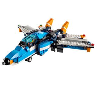 LEGO 乐高 Creator 创意百变系列 31096 双螺旋桨直升机