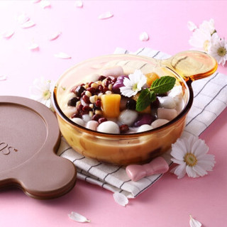 VISIONS 康宁 VSP-1+VS155 晶彩透明锅单柄奶锅 黄色