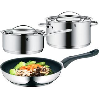 WMF 福腾宝 锅具套装锅不锈钢汤锅 不锈钢色