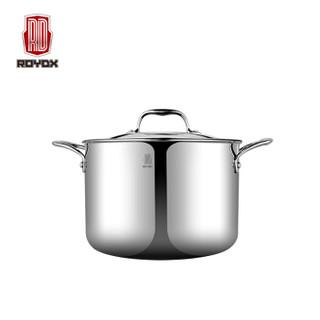 ROYDX 莱德斯 LT-70001 炒锅家用厨房电磁炉通用锅具四件套 不锈钢色