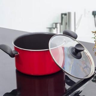 SUPOR 苏泊尔 锅具套装 红色