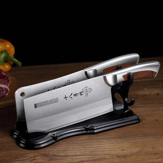 SHIBAZI 十八子作 G2001 厨房套刀组合锋利两件套 钢刃双刀