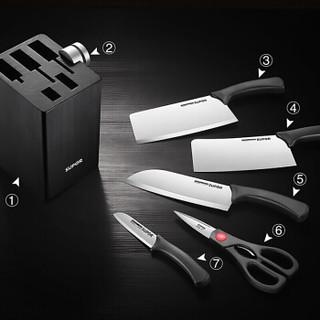 SUPOR 苏泊尔 TK1640E 厨房不锈钢刀具七件套