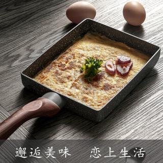 夕川 XCYZS01-15 玉子烧煎锅15*18 黑色