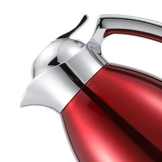 KDWS 凯帝维仕 不锈钢保温壶家用热水壶  红色1.5L