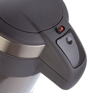 TIGER 虎牌 不锈钢热水瓶大容量保温壶TG天鹅灰 4L