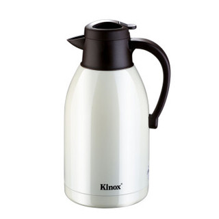 KINOX 4200/20 家用真空2L大容量304不锈钢保温壶 白色 2升