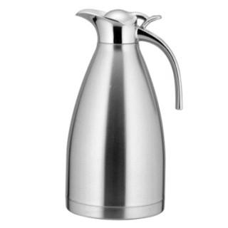 优水 14895564111 不锈钢欧式家用热水瓶 不锈钢色2L