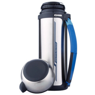 ZOJIRUSHI 象印 SF-CC20 户外保温瓶不锈钢热水瓶 XA不锈钢 2L