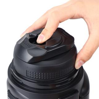 LOCK&LOCK 乐扣乐扣 LHC1425/1426/1427 不锈钢户外旅行保温壶 车载保温瓶  黑灰色1.8L