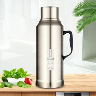 Tianxi 天喜 TBB133-2000 家用热水瓶大容量保温杯  不锈钢金色2L