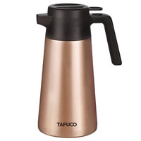 TAFUCO 泰福高 T-1600 316不锈钢大容量保暖瓶 金色 2000ML